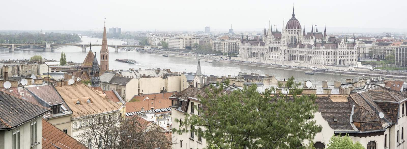 image of Budapest's skyline, where you'll find fine regional dining at restaurant Babel Budapest