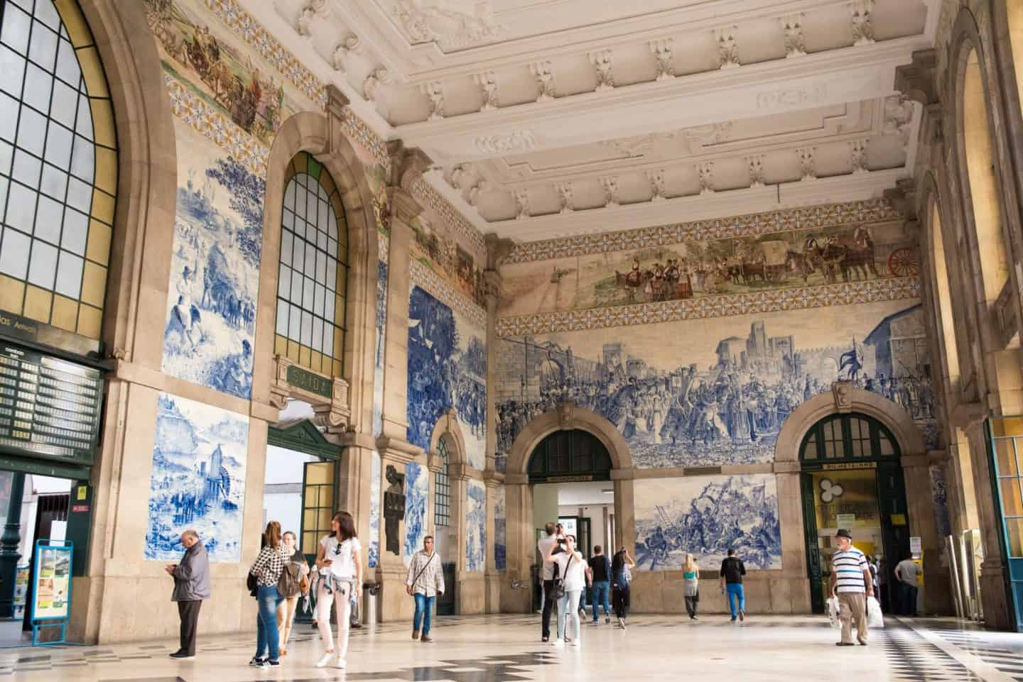 São Bento railway station - GROUP TRAVEL | 10 things To Expect From An Intrepid Travel Tour