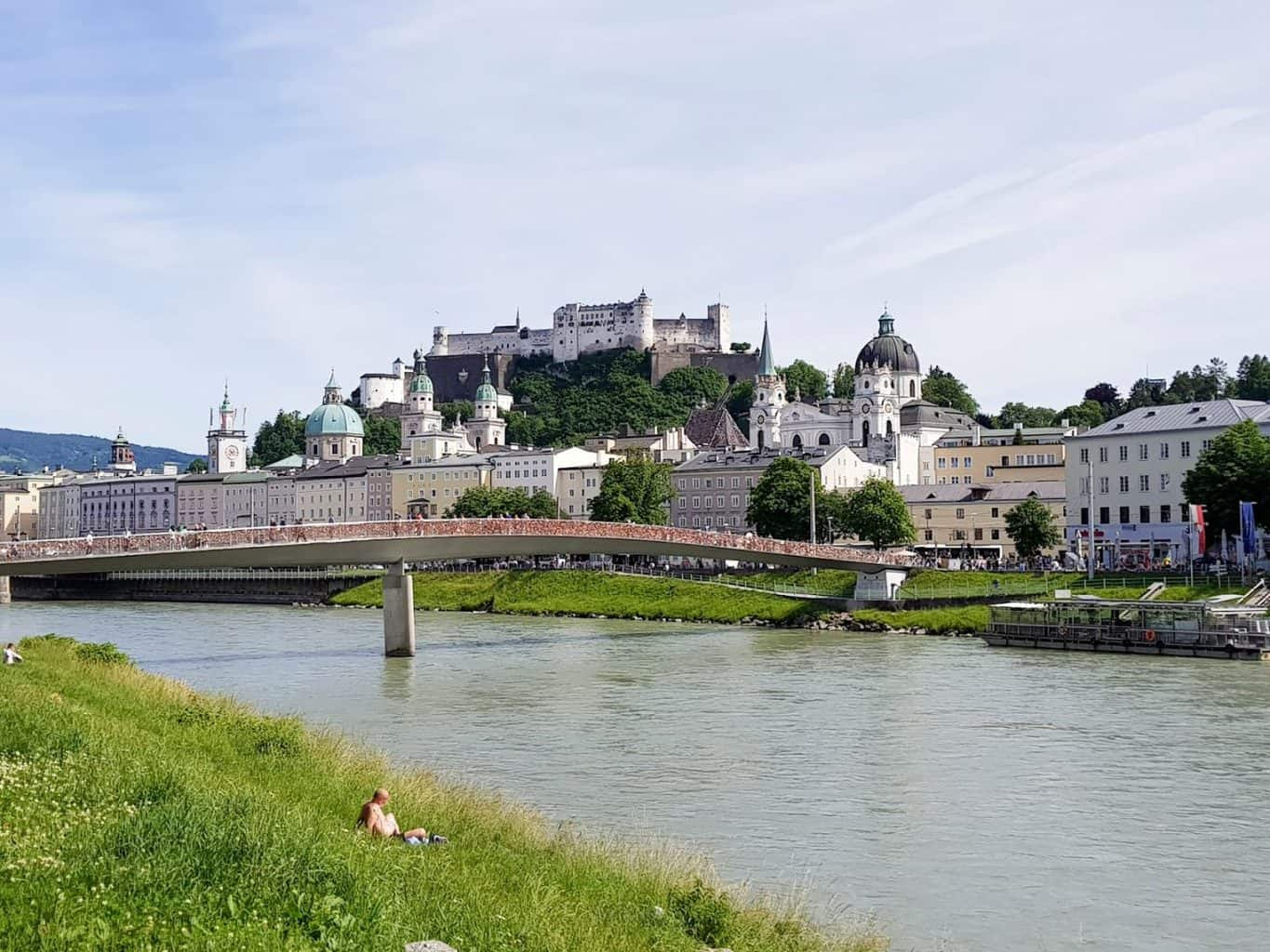 Salzach in Salzburg - AUSTRIA | 10 less obvious things to do in Salzburg, Innsbruck and Graz