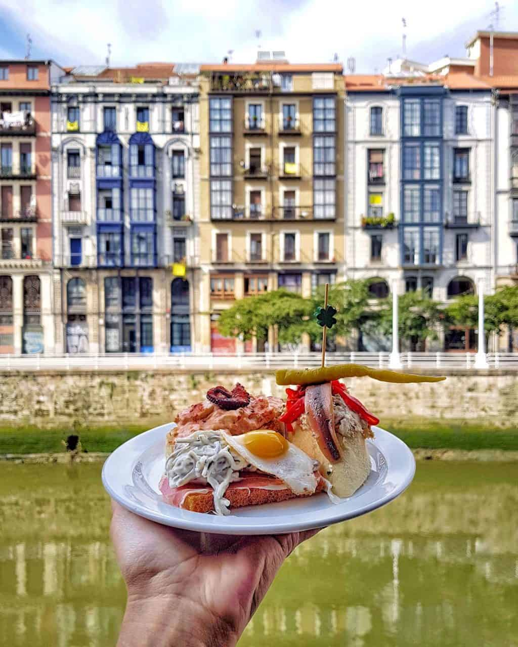 tapas in Logrono in Spain - 7 things you must do in Bilbao and La Rioja
