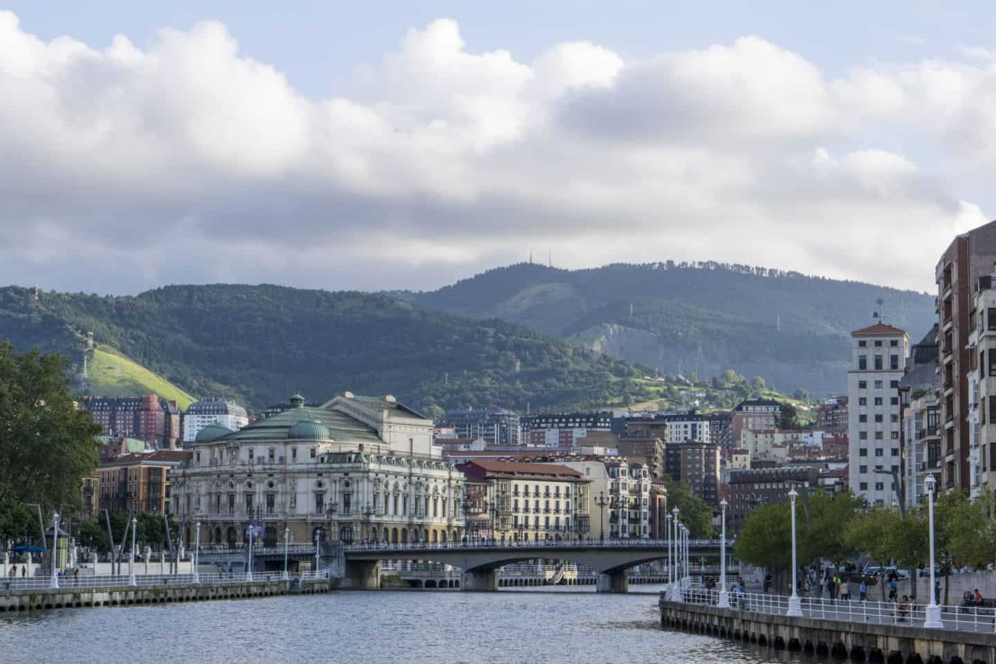 Bilbao skyline - 7 things you must do in Bilbao and La Rioja
