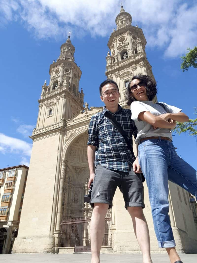image of cathedral in Logrono in Spain - 7 awesome things to do in Bilbao and La Rioja