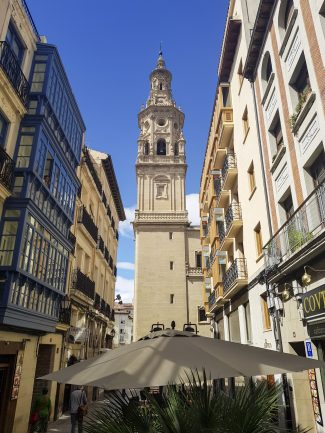 image of road in Logrono in Spain - 7 awesome things to do in Bilbao and La Rioja