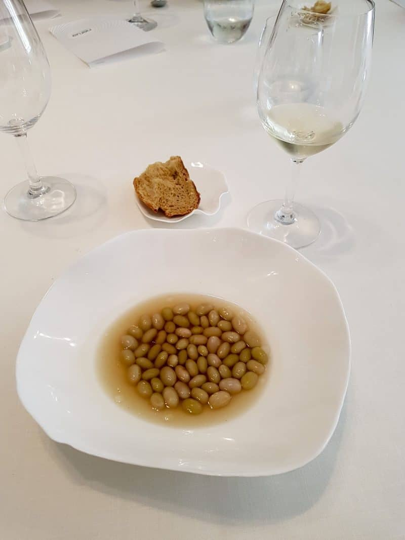 image of food in Nerua Restaurant in Bilbao - 7 awesome things to do in Bilbao and La Rioja
