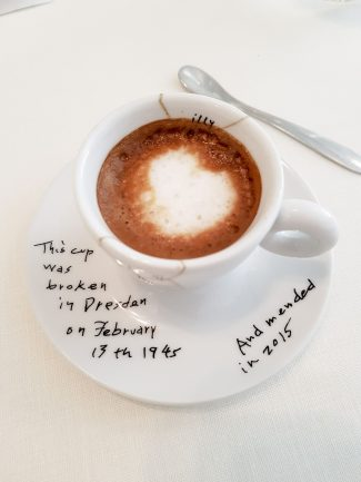 image of coffee in Nerua Restaurant in Bilbao - 7 awesome things to do in Bilbao and La Rioja