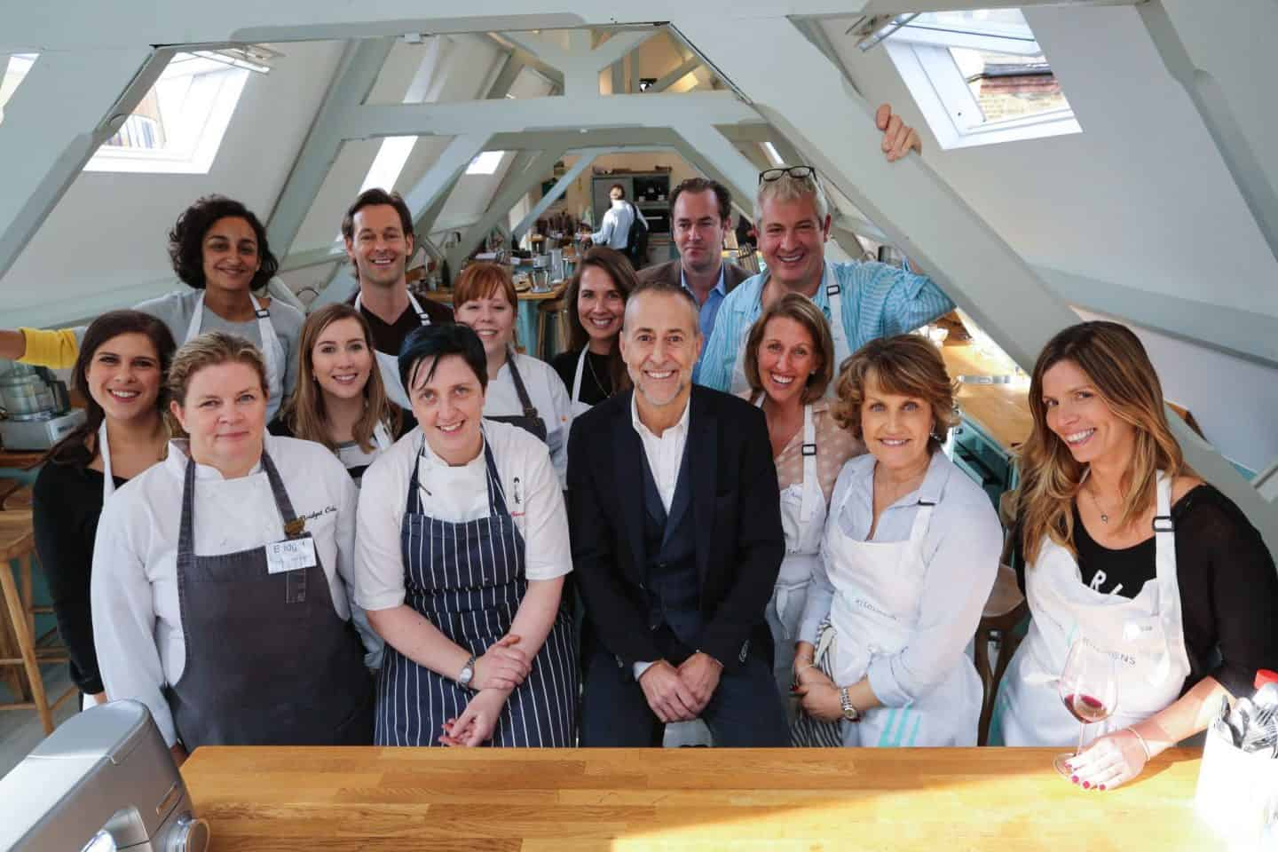 Cooking Le Gavroche restaurant recipes with the Kenwood Chef