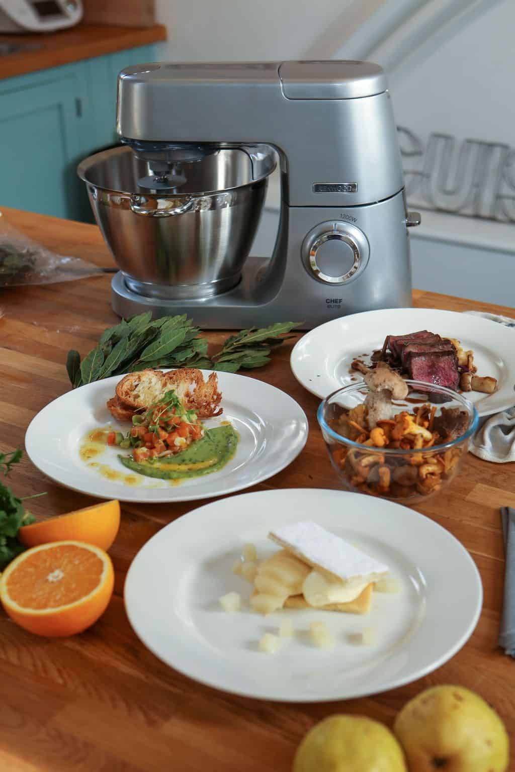 How to cook restaurant recipes with the kenwood chef the cutlery it has over 25 attachments including a pasta maker an ice cream maker juicer food processor and heat resistant blender a veritable swiss army knife of forumfinder Gallery