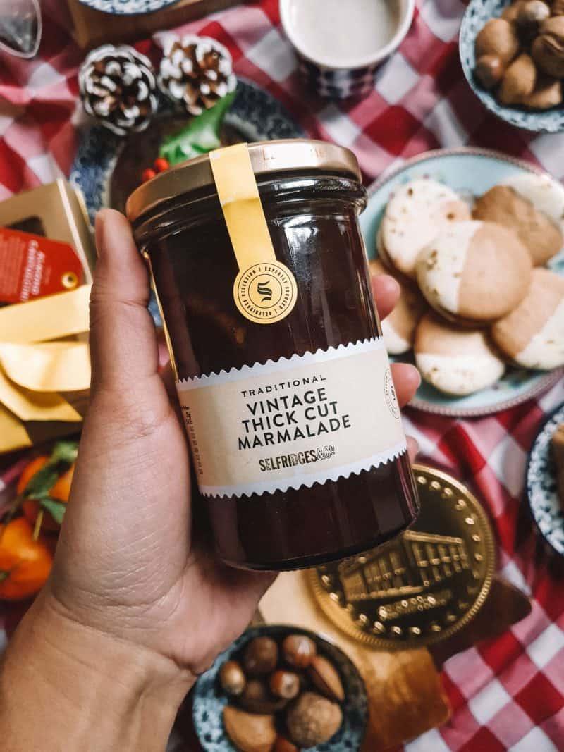 Thick-cut marmalade, Selfridges food gift Christmas hampers