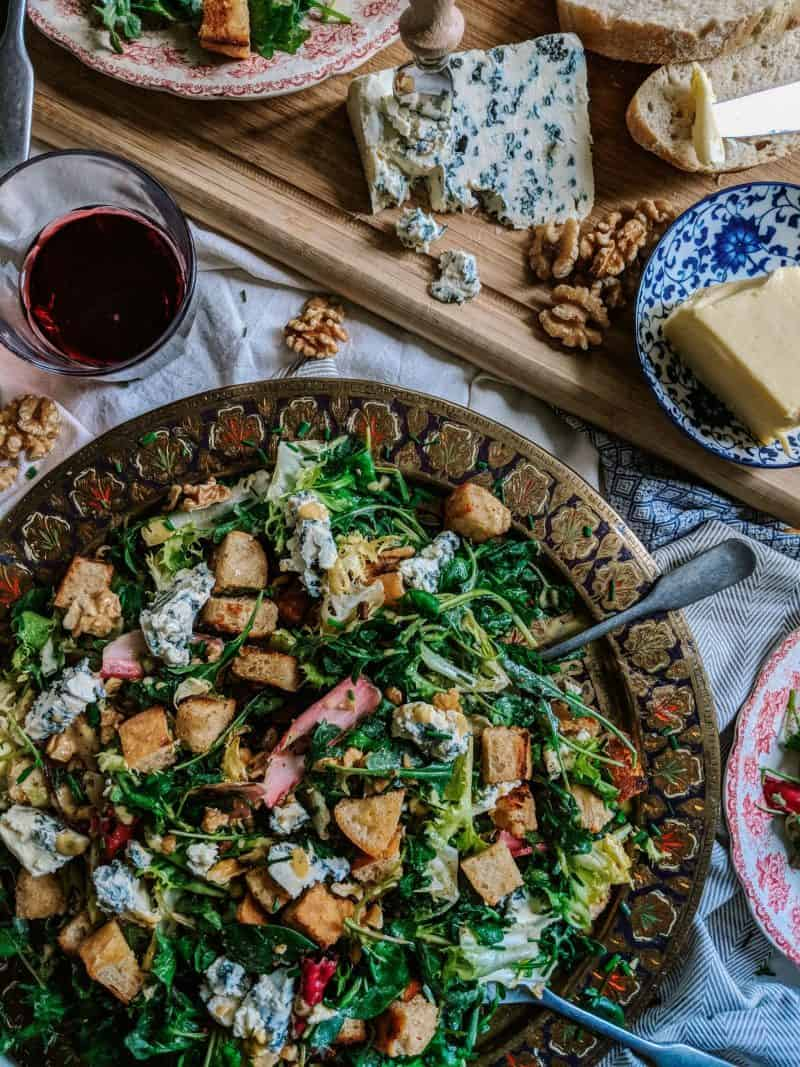 The Ultimate French Blue Cheese Salad Recipe