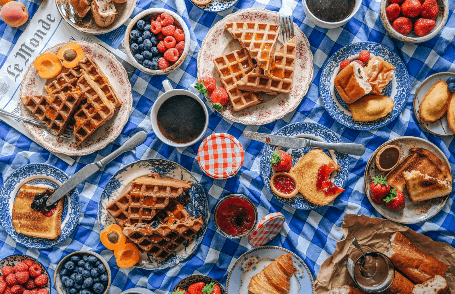 The Best Waffles Recipe For A French Breakfast Spread, make waffles, breakfast waffles