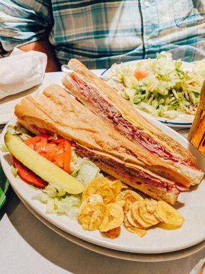 best Cuban sandwiches in Tampa, Columbia Restaurant Ybor City