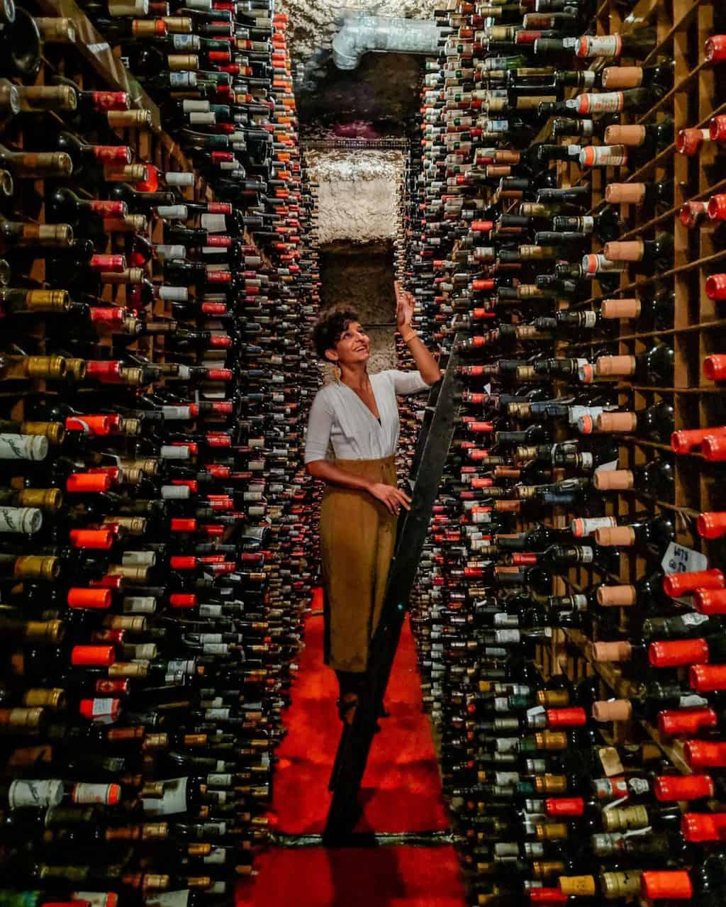 Bern's Steak House Wine Cellar SoHo Tampa restaurants
