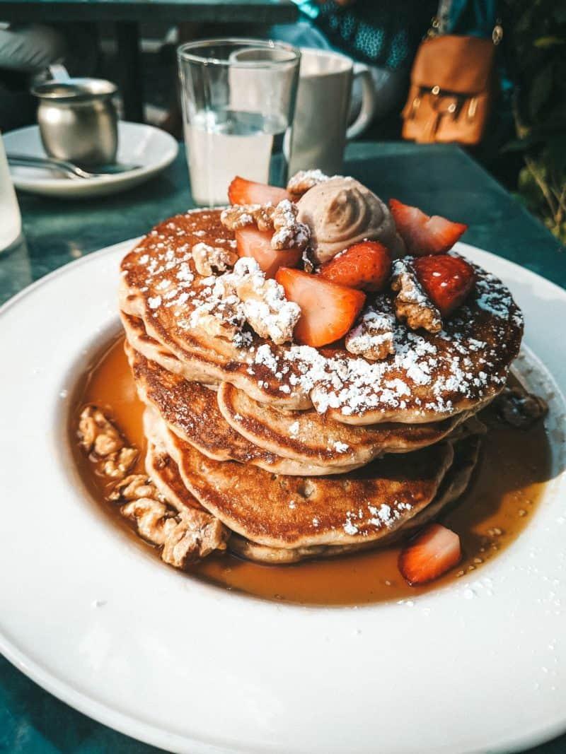 Pancakes Oxford Exchange Tampa Florida places to eat in Tampa