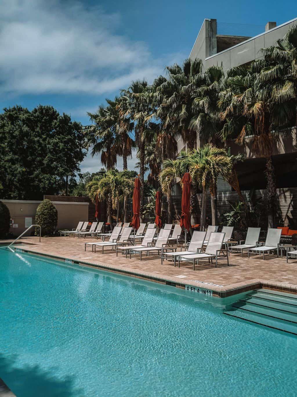 The Epicurean Hotel Swimming Pool SoHo Tampa restaurants