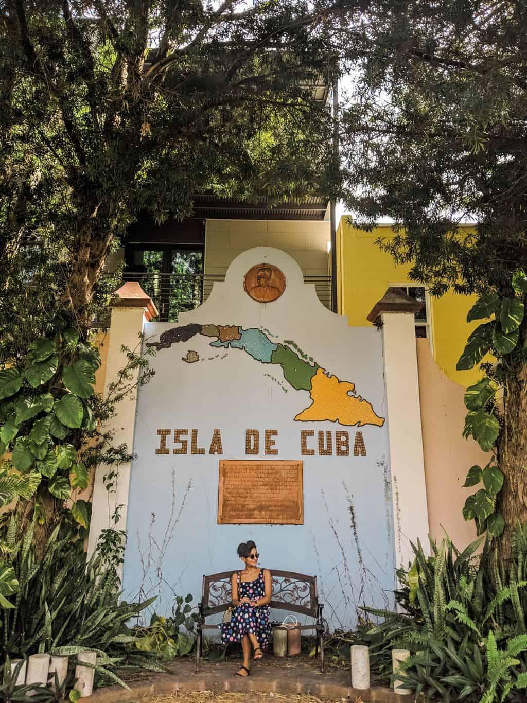 José Martí Park Ybor City FL Tampa Bay