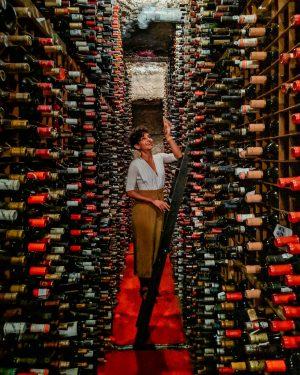 Bern's Steakhouse Wine Cellar Tampa Bay
