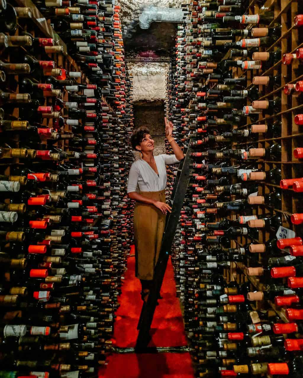 Bern's Steakhouse Wine Cellar Tampa Bay