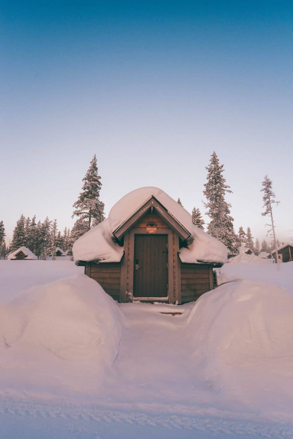 An aurora cabin surrounded by snow Finnish Lapland, Lapland destinations, Lapland Finland, Inghams