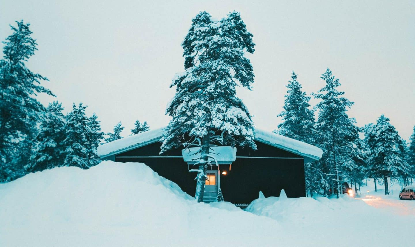 a building covered by snow Finnish Lapland, Lapland destinations, Lapland Finland, Inghams