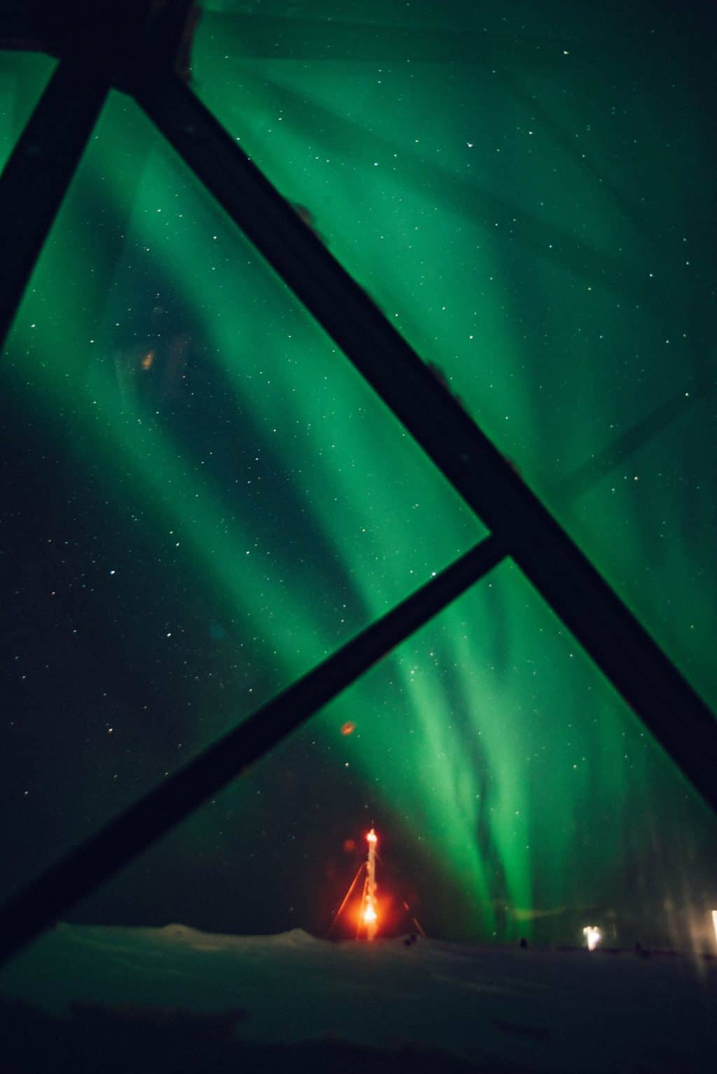 the green swirl of the Northern Lights Finnish Lapland, Lapland destinations, Lapland Finland, Inghams