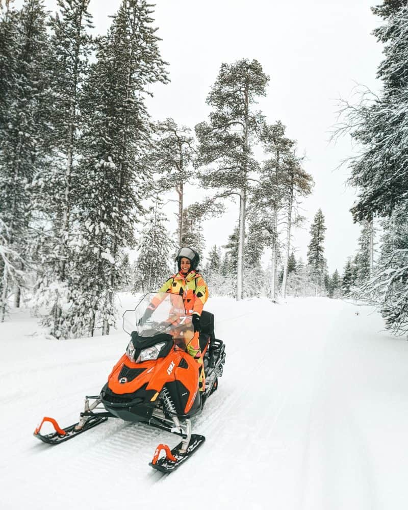 Driving a snowmobile Finnish Lapland, Lapland destinations, Lapland Finland, Inghams